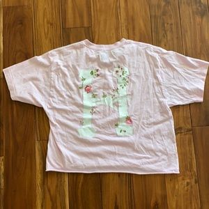 HUF crop t-shirt